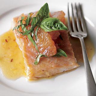 Salmon With Grapefruit Sauce Recipes