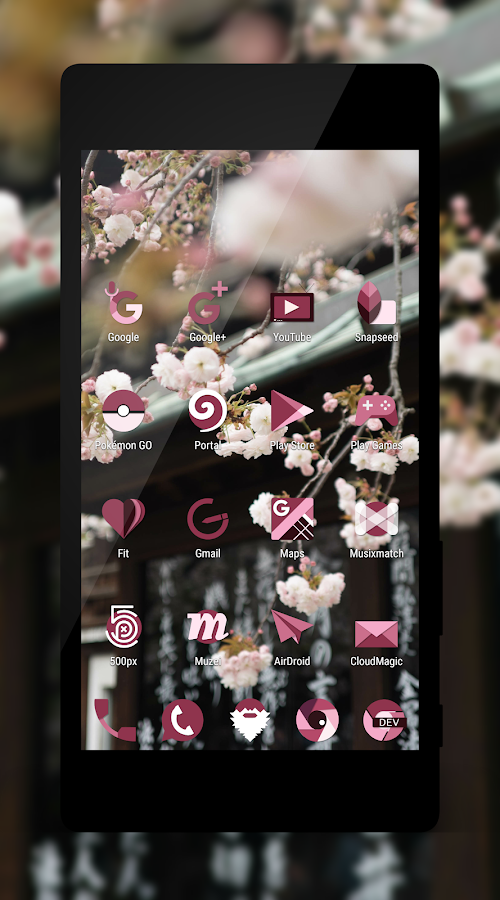 Sakura Icon Pack Screenshot 1