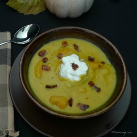 Butternut Squash Bisque With Bacon