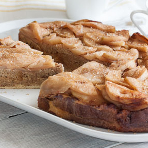 Slow Cooker Apple Cinnamon French Toast