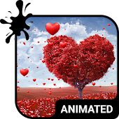 Download Full Land of Love Animated Keyboard 1.38 APK