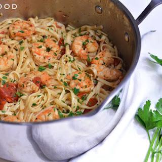 Shrimp Scampi Pasta With Tomatoes Recipes