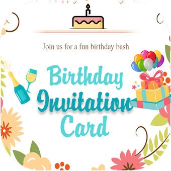 Kitty party invite card maker appmarket android apps in google birthday invitation card maker stopboris Image collections