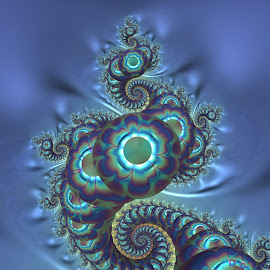 Spiral 29 by Cassy 67 - Illustration Abstract & Patterns ( bubble, snake, abstract art, swirl, digital art, bubbles, circle, spiral, fractal, digital, fractals )