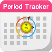Period Calendar Daily Tracker