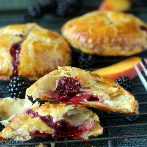 Fresh Blackberry and Peach Hand Pies