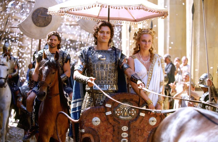Troy Costume Mistakes in Hollywood