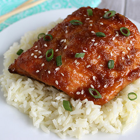 Honey Ginger Soy Salmon