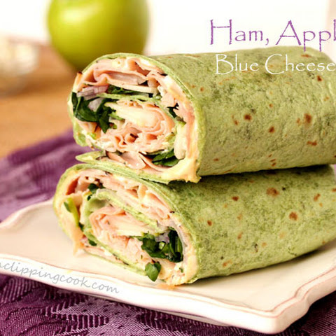 Ham, Apple and Blue Cheese Wrap