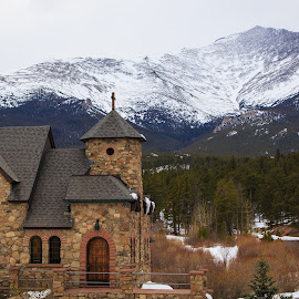 Chapel on the Rock by Gannon McGhee - Buildings & Architecture Places of Worship ( of, mountains, catholic, retreat, rocky, chapel on the rock, colorado, malo, siena, saint, catherine, allenspark )