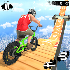 Mega Ramp Crash Stunts BMX Bike Racing Challenge For PC / Windows 7/8/10 / Mac – Free Download