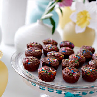 Brownie Bites Made with Cocoa Powder
