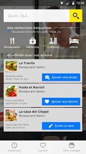 App PagesJaunes – recherche locale APK for Kindle