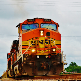 BNSF 5145  8433 by Jim Suter - Transportation Trains