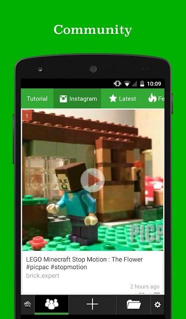 PicPac Stop Motion & TimeLapse screenshots