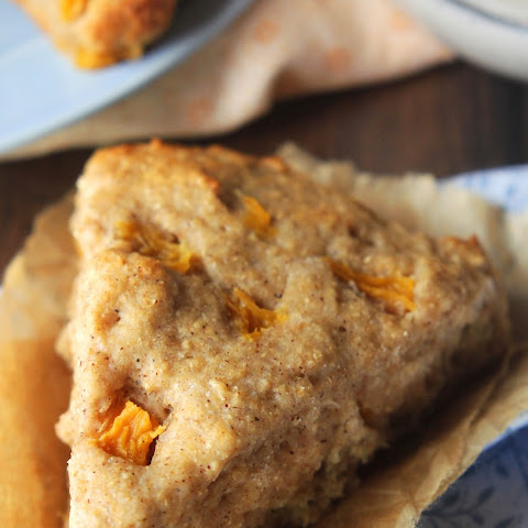 Clean Peach Scones