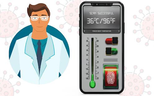 Body Temperature Thermometer : Fever Check History