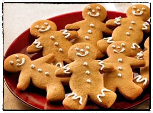 Spicy Gingerbread Cookies - Recipe - Pabular