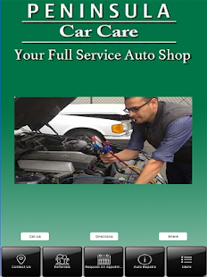 Peninsula Car Care, Inc. - screenshot