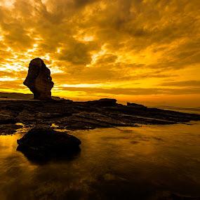 Golden Sunrise by Zahir Mohd - Landscapes Sunsets & Sunrises