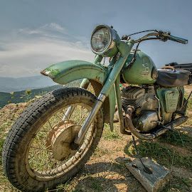 Old Bike  by Julian Popov - Transportation Motorcycles ( old, bike, vintage, iz, motorcycle, ussr )