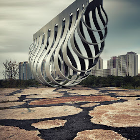 Touch Down by Jonathan Danker - Buildings & Architecture Statues & Monuments