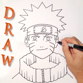 App How to Draw Naruto Characters APK for Kindle