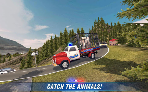 Angry Animals Police Transport - screenshot