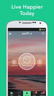Pacifica - Stress & Anxiety Fitness app screenshot for Android