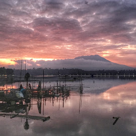 Sunrise by Maria Lourdes Josefina Piamonte - Novices Only Landscapes