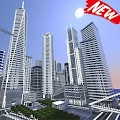 Mega City map for MCPE APK for Bluestacks