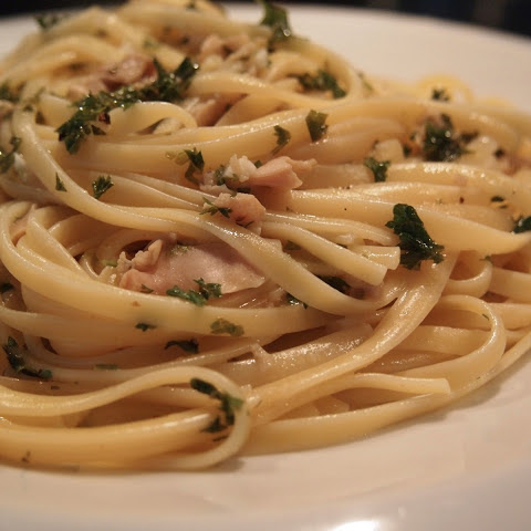 Easy Linguini and Clam Sauce