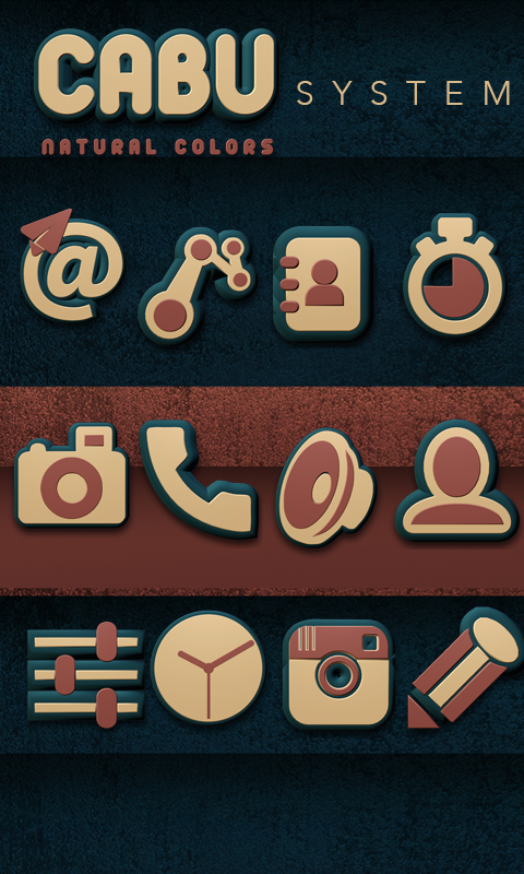 Cabu Icon Pack Natural Colors Screenshot 3