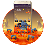 Lava On The Floor Android Theme Icon
