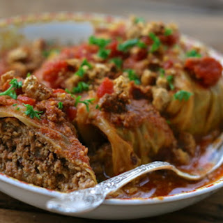 Polish Cabbage Rolls ~ Golabki {crock Pot Recipe}