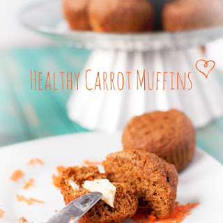 Healthy Carrot Muffins