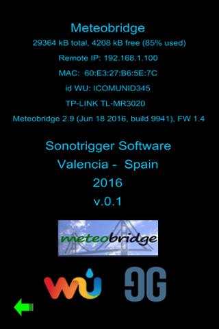 MyMeteobridge - screenshot