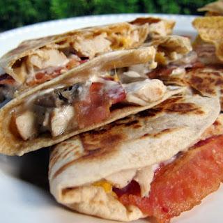 Bacon Mushroom Quesadillas Recipes