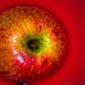Apple by Malay Maity - Food & Drink Fruits & Vegetables ( apple )