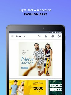 App Myntra Online Shopping App apk for kindle fire
