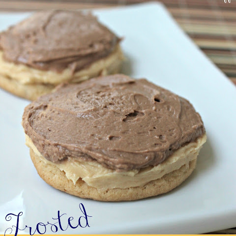 Cutler's Frosted Peanut Butter Cookies