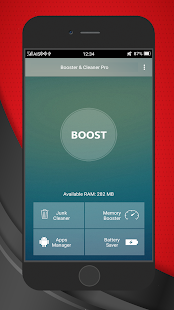 Booster Cleaner PRO - screenshot