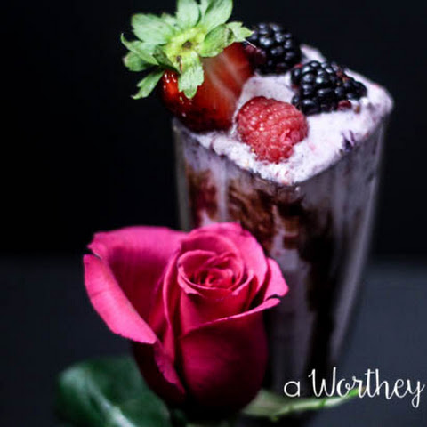 Menage à Trois Berry Cocktail Shake