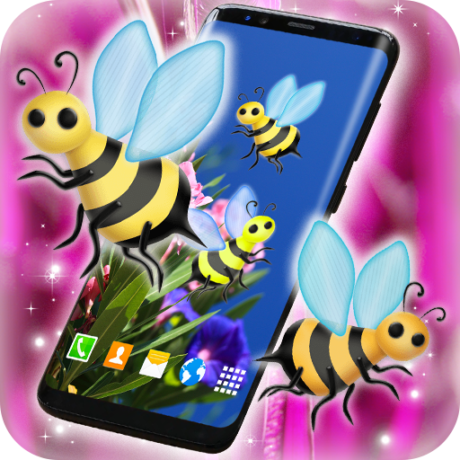 Bumble Bees on Your Screen (app)