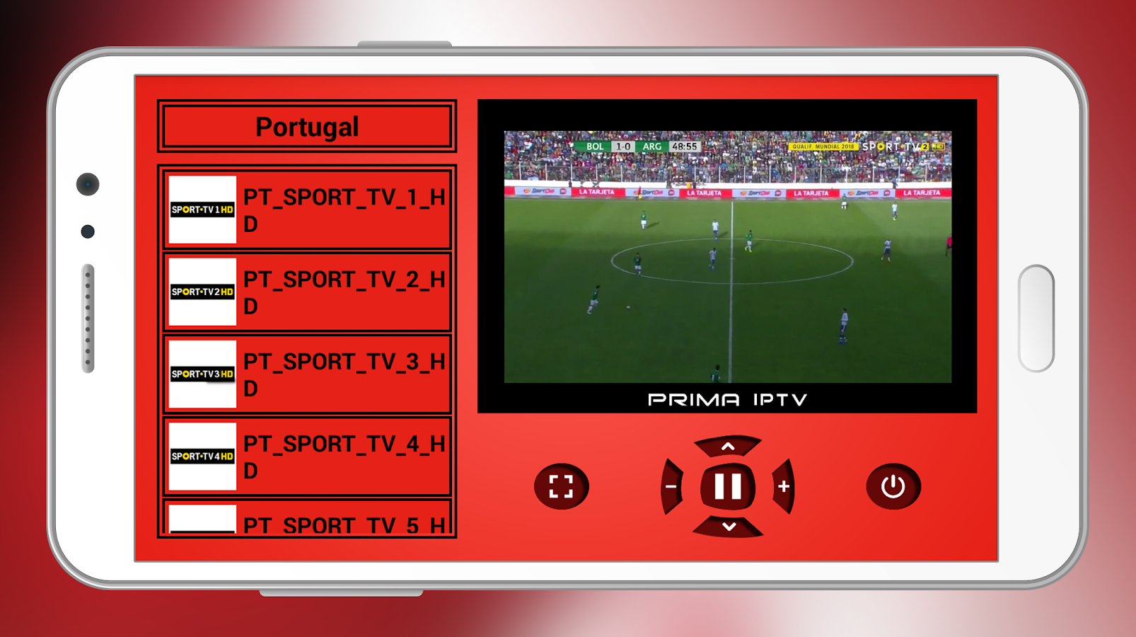 Prima IPTV android apps download