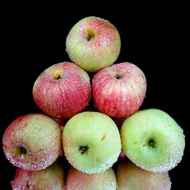 Apple pyramid by Asif Bora - Food & Drink Fruits & Vegetables