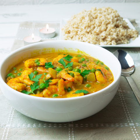 Quick Prawn Coconut Curry
