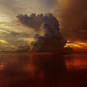 i see houses by Christian Setiawan - Landscapes Cloud Formations