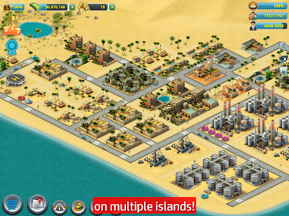 Game City Island 3 - Building Sim: Little to a Big Town APK for Windows Phone