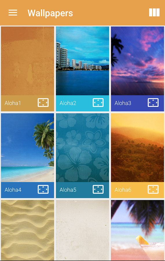 Aloha Icon Pack Screenshot 4